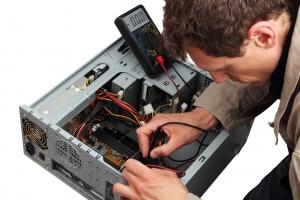 Professinal repairing a PC